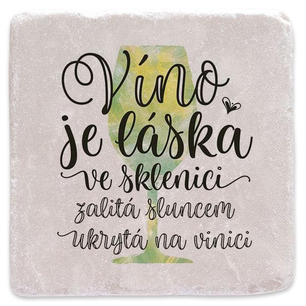 Víno je láska - bílé