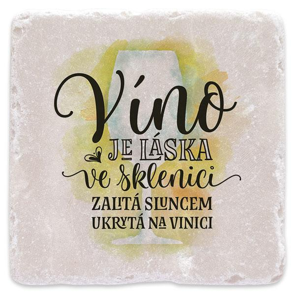 Víno je láska - bílé 02