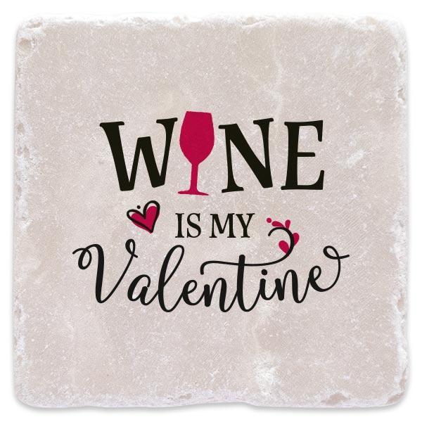 Víno je můj Valentýn