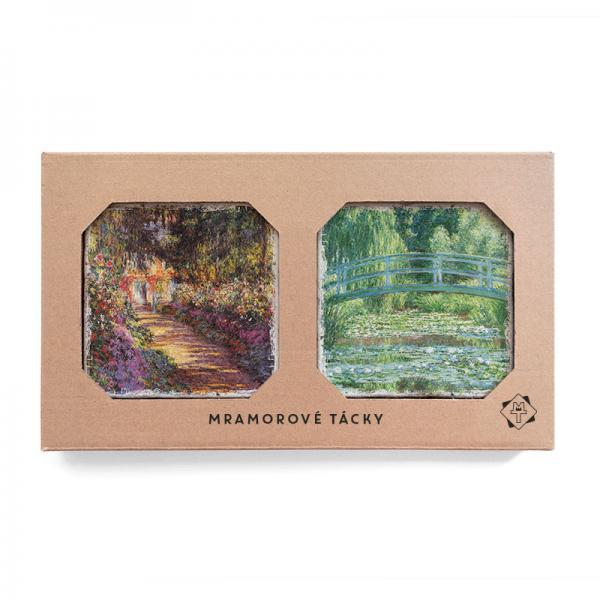 Monetova zahrada v Giverny, Lekníny a japonský most
