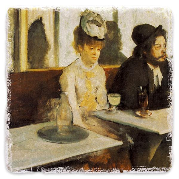 V kavárně (Absint)