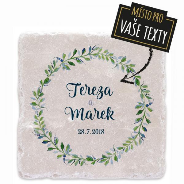Svatební dárek - Květinový kruh