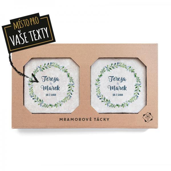 Květinový kruh set - svatební dárek