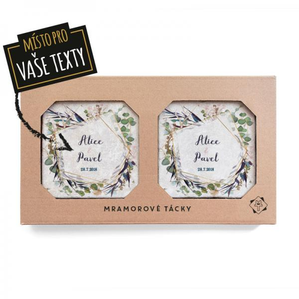 Sušené květy set - svatební dárek