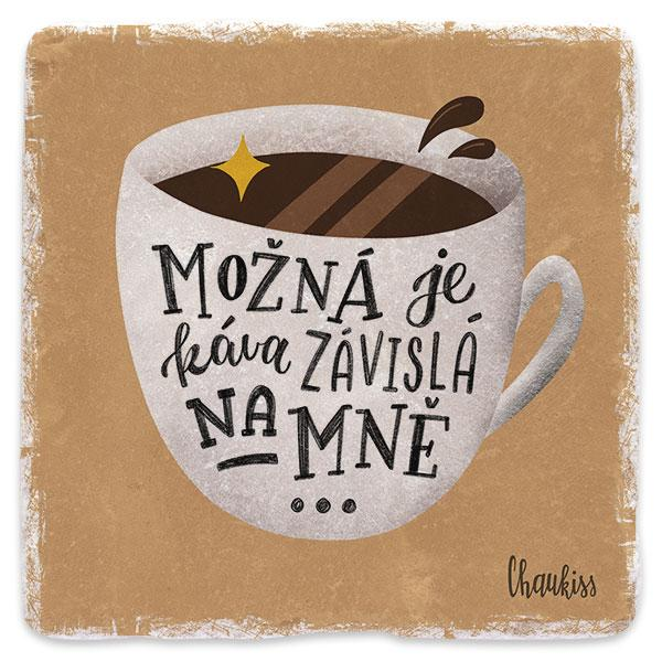 Závislá káva