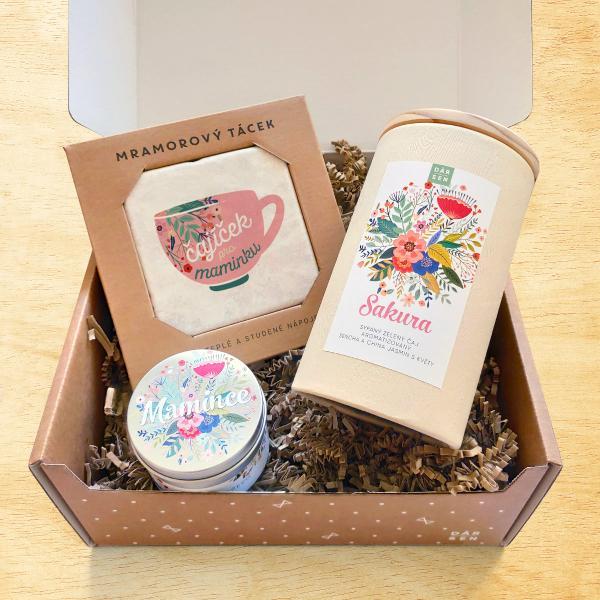Dárkový balíček s čajem pro maminku
