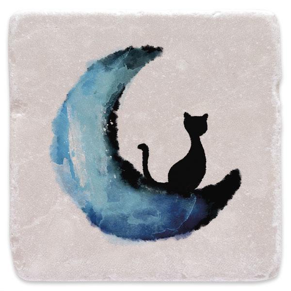 Kočka na měsíci