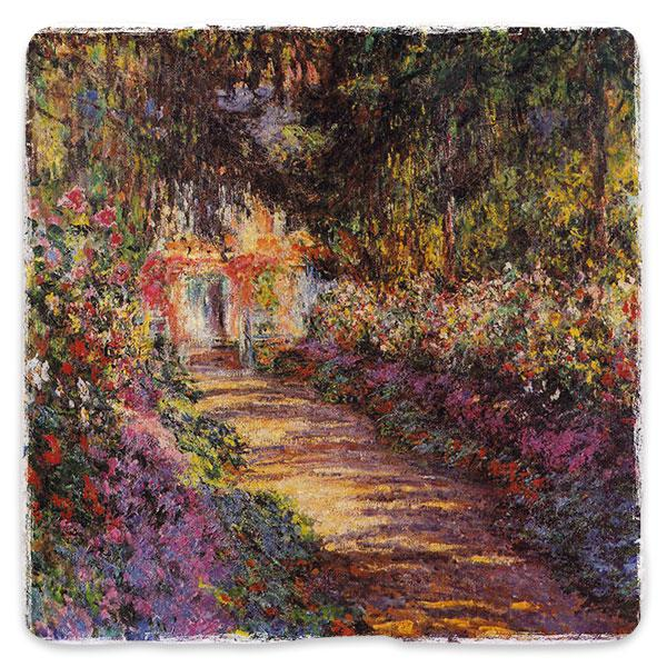 Stezska v Monetově zahradě v Giverny