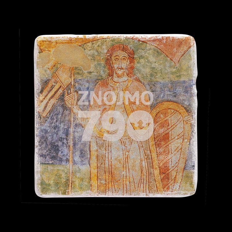 Mramorový tácek k výročí města Znojma